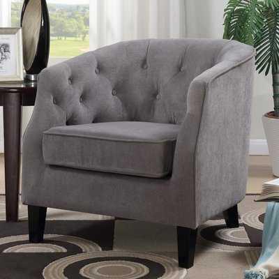Timberlane Tufted Armchair - Wayfair