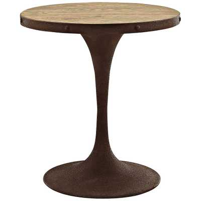 "Drive 30"" High Brown Small Round Dining Table - Style # 33R84 - Lamps Plus"