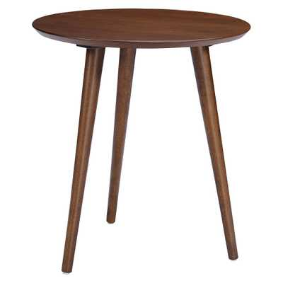 Evie End Table - Wood - Walnut (Brown) - Christopher Knight Home - Target