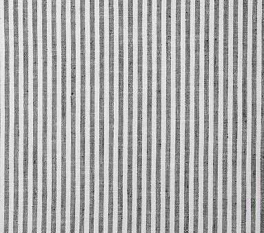Fabric By The Yard: Vintage Stripe Black/White - Pottery Barn Kids