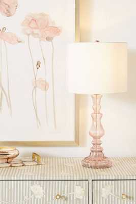 Eva Glass Lamp Base - Anthropologie