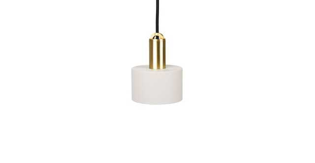 Tangent Cylinder Gray Pendant Lamp - Article