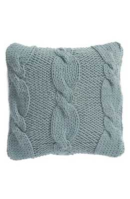 Nordstrom At Home Cable Knit Accent Pillow, Size One Size - Grey - Nordstrom