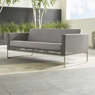 Dune Sofa with Sunbrella ® Cushions - Crate and Barrel