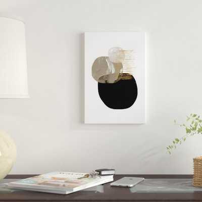 Minimal Tone by Dan Hobday - Wrapped Canvas Print - AllModern