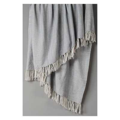 "Throw Blankets 50""X60"" Silver - Rizzy Home - Target"