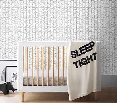Chasing Paper Wallpaper, Line Triangles - Pottery Barn Kids