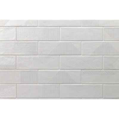 Splashback Tile Ace Gray 2 in. x 8 in. x 9mm Polished Ceramic Subway Wall Tile (76 pieces / 10.76 sq. ft. / box) - Home Depot