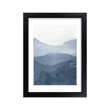 "Sacred Beginning No. 1 Framed Art by Minted(R), 5""x7"", Black - Pottery Barn Teen"
