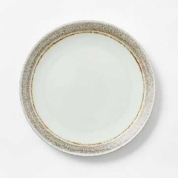 Shiny Ash Celadon Dinner Plate, Set of 4 - West Elm