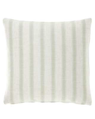 """Striped Pillow, 20""""Sq. - Horchow"""