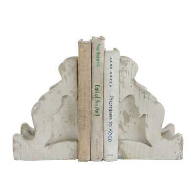 Magnesia Corbel Bookends - Birch Lane