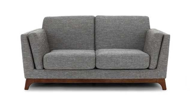 Ceni Volcanic Gray Loveseat - Article