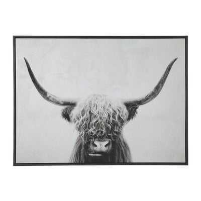 'Pancho' Framed Graphic Art Print on Wrapped Canvas - Wayfair