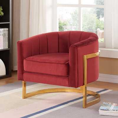 Leila Barrel Chair - AllModern