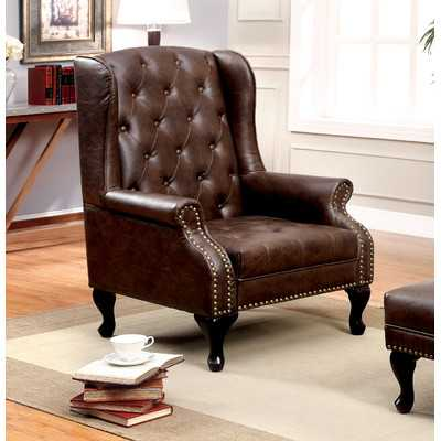 Barnett Wingback Chair - Wayfair