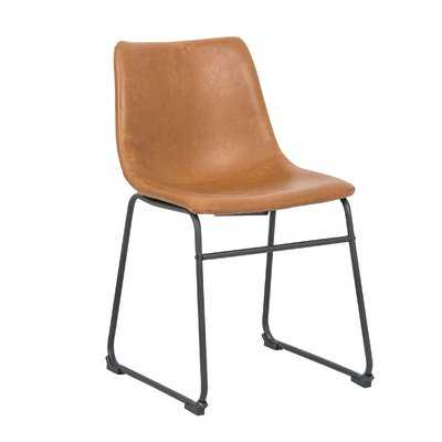 Cladeus Vintage Upholstered Dining Chair set of 2 - Wayfair