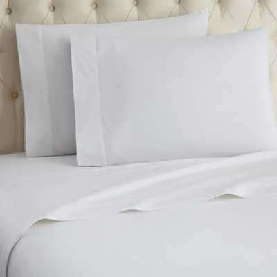 4-Piece White Queen Sheet Set - Home Depot