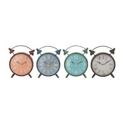 Templeton Table Clock Set - Wayfair