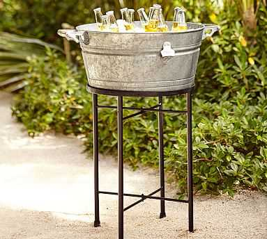 Galvanized Metal Party Bucket - Pottery Barn