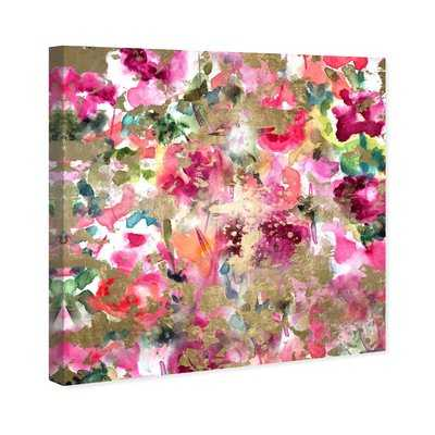 Oliver Gal 'Wilderness Abstract Art' Wrapped Canvas Graphic Art Print on Canvas - AllModern