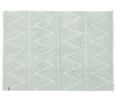 "Lorena Canals Hippy Washable Rug Mint 4' x 5' 3"" - Pottery Barn Kids"