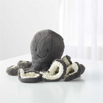 Jellycat ® Black Inky Octopus - Crate and Barrel