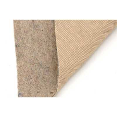 All-Surface Thin Profile 3 ft. x 5 ft. Fiber and Rubber Backed Non-Slip Rug Pad - Home Depot
