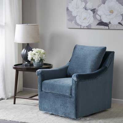Lundell Swivel Armchair - Birch Lane