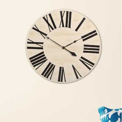 Oversized Farmhouse Wall Clock - Birch Lane