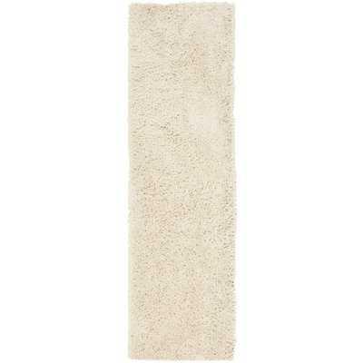 Kirtley Cotton White Area Rug - AllModern