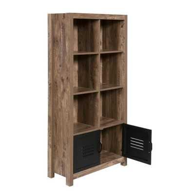 Norwood Range Bookshelf, Brown - Home Depot