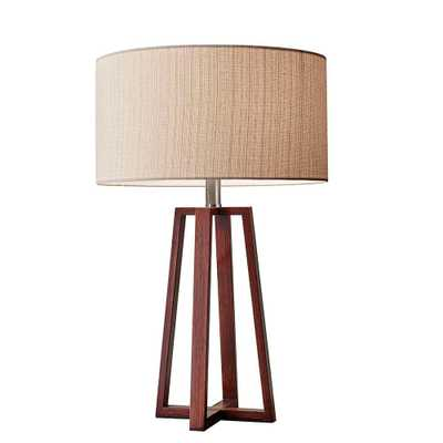 Adesso Quinn 24 in. Brown Table Lamp - Home Depot
