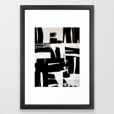wabi sabi 16-02 Framed Art Print by Patternization - Society6