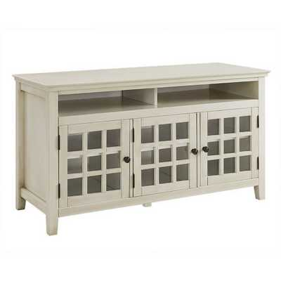 Largo Media Cabinet White - Linon - Target
