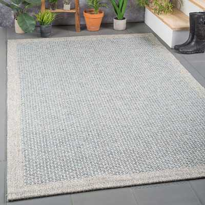 Felipe Blue/Gray Indoor/Outdoor Area Rug - Wayfair