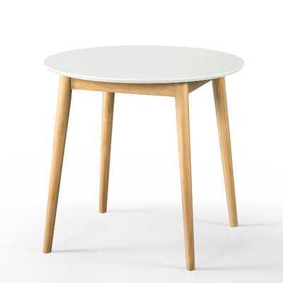 Bedolla Mid Century Round Dining Table - Wayfair