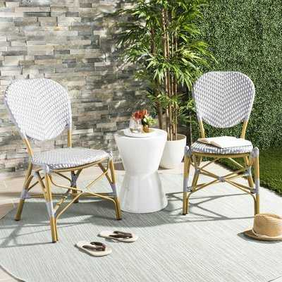 Lintgen French Stacking Patio Dining Chair - Birch Lane