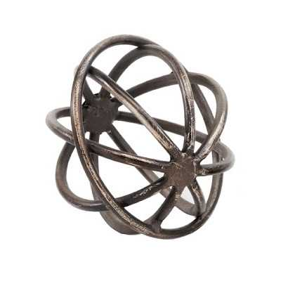 Decorative Giro Sphere Sculpture - Birch Lane