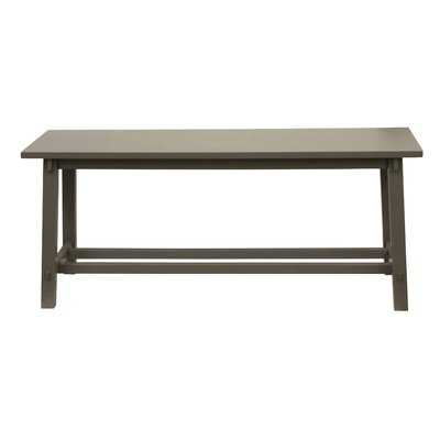 Jade Wood Bench - Wayfair