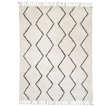 Souk Wool Rug, 8'x10', Ivory - West Elm