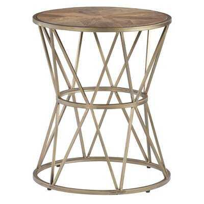 Kirchoff Round End Table - Wayfair
