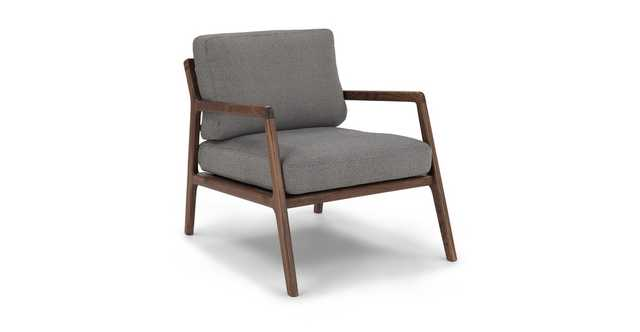 Denman Storm Gray Chair - Article