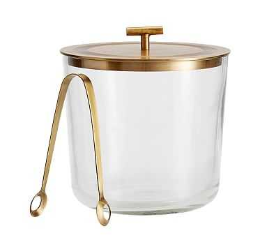 Bleecker Bar Ice Bucket - Pottery Barn