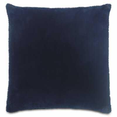 James Faux Fur Throw Pillow - Wayfair