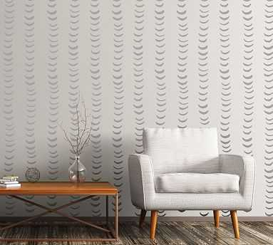 Half Moons Wall Decal, Warm Gray - Pottery Barn