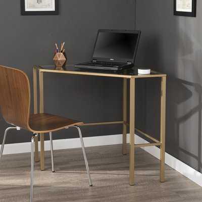 Coopers Glass Corner Desk - AllModern