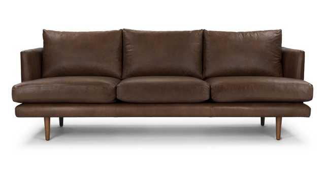 Burrard Bella Brown Sofa - Article