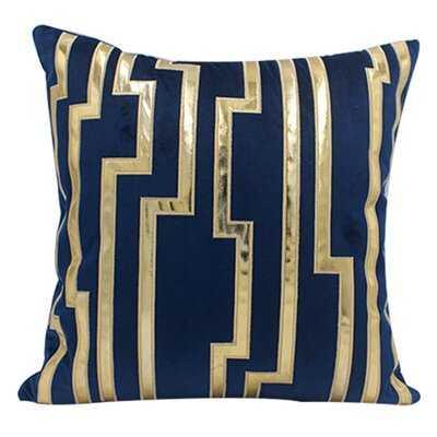 Advika Embroidered Velvet Throw Pillow Cover - Wayfair