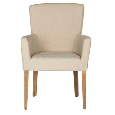 Accent Chairs Safavieh Beige Hemp - Target
